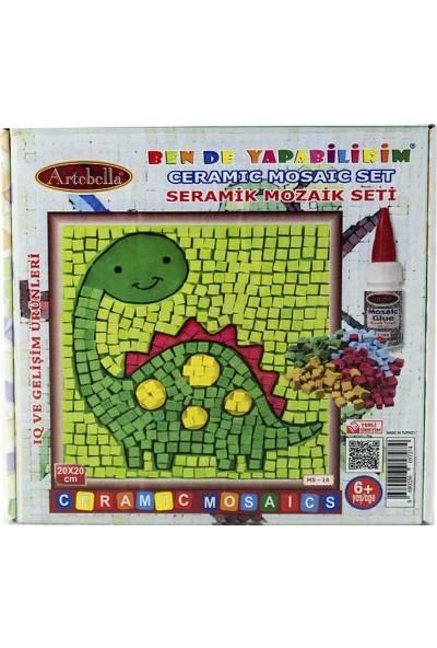 Artebella Seramik Mozaik Set 20x20 cm - Dino