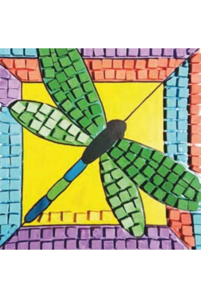 Artebella Seramik Mozaik Set 20x20 cm - Yusufçuk