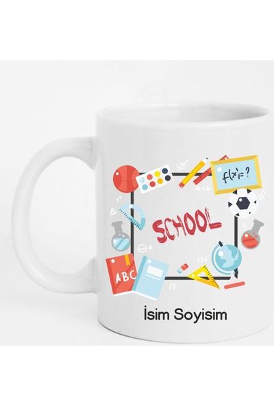 Tasarım Mağazası Kişiye Özel School Kupa Bardak
