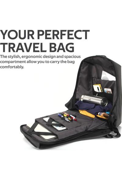 """Promate Defender-13 TSA 13"""" Kilitli Laptop Notebook Çantası"""