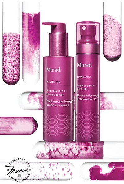 Murad Prebiotic 3 In 1 Multi Mist - 3'ü 1 Arada Yüz Spreyi 100 ml