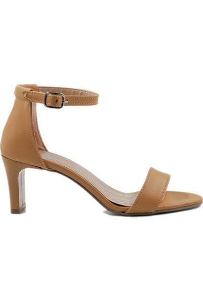 Daymotto Lucca Topuklu Ayakkabı Camel