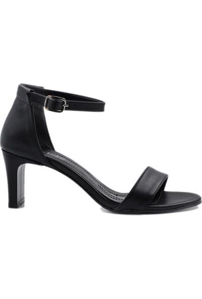 Daymotto Lucca Topuklu Ayakkabı Siyah