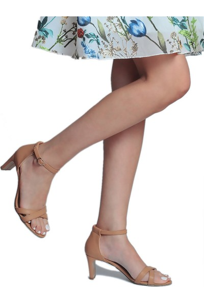 Daymotto Angel Topuklu Ayakkabı Camel