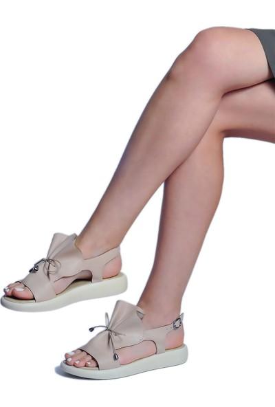Daymotto Foça Sandalet Nude