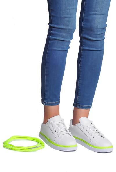 Daymotto Torino Spor Ayakkabı Beyaz Yeşil