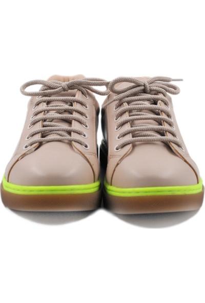 Daymotto Torino Spor Ayakkabı Nude Yeşil