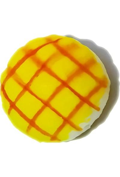 Play Seba Sarı Kurabiye Squishy 6 cm - Kokulu