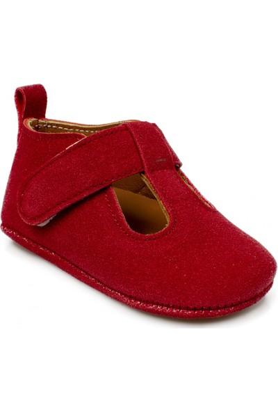 Petit Peton Arrets Yeni Doğan Kırmızı Çocuk Ayakkabı