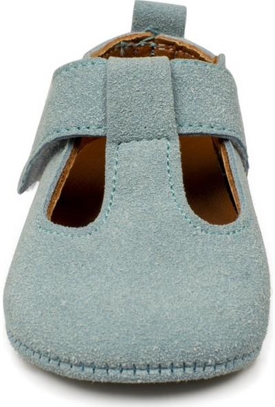 Petit Peton Arrets Yeni Doğan Mavi Çocuk Ayakkabı