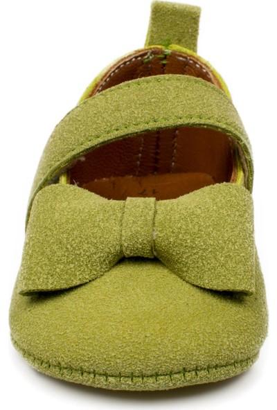 Petit Mignon Yeni Doğan Yeşil Çocuk Ayakkabı