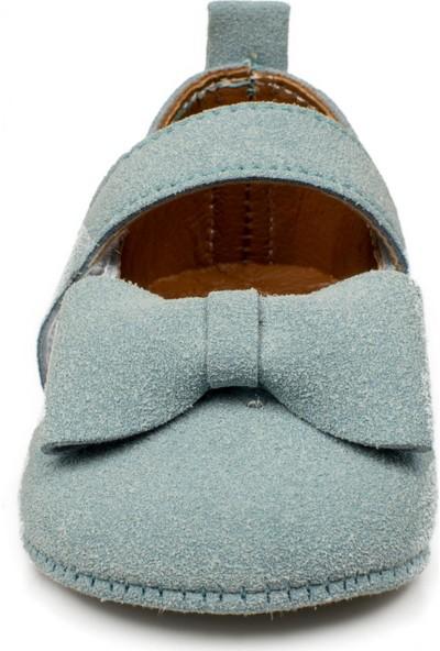 Petit Mignon Yeni Doğan Mavi Çocuk Ayakkabı