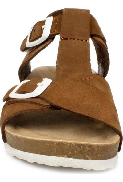 Vicco 905.p20Y.084 Patik Deri Taba Çocuk Sandalet