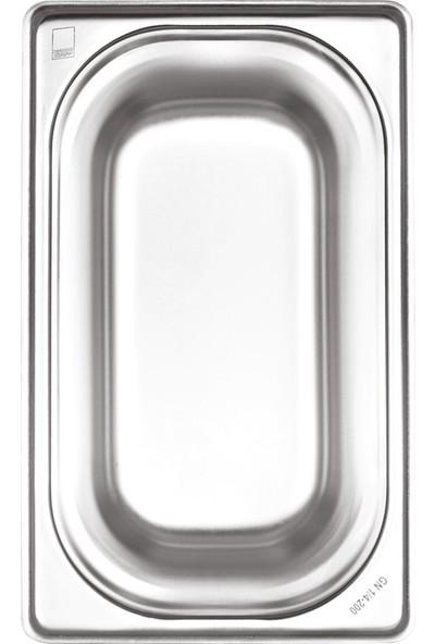 Kapp Çelik Gastronom Küvet 1/9-65