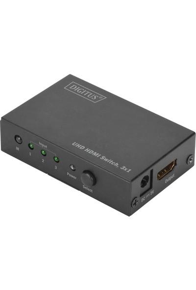 Digitus DS-45312 4K 3 x 1 HDMI 2.0 Switch