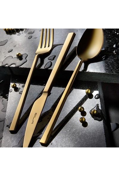 Sıla 36 Parça Çatal Kaşık Bıçak Seti Elit Tam Gold