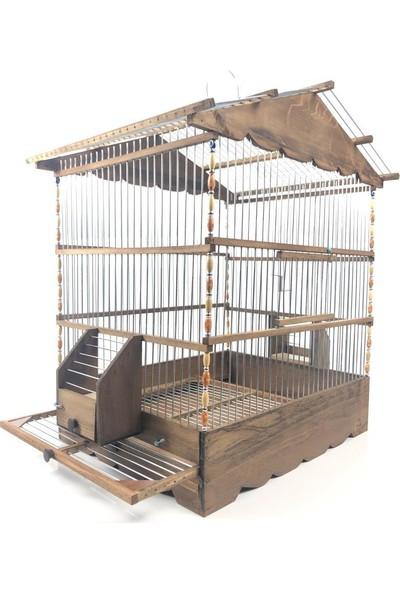 Naturbird Mega Dik Ahşap Kafes