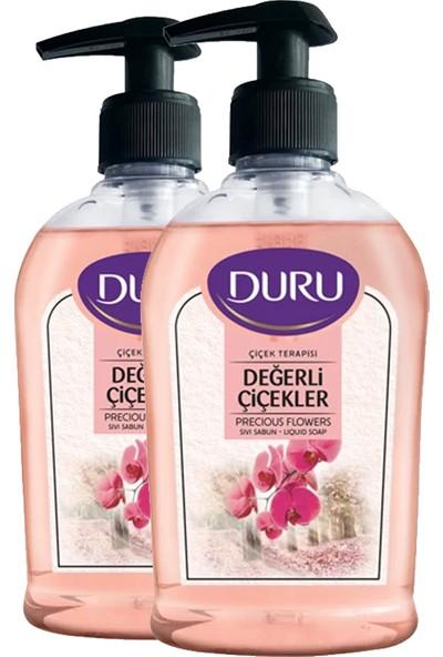 Duru Değerli Çiçekler Sıvı Sabun 2 Adet 300 ml