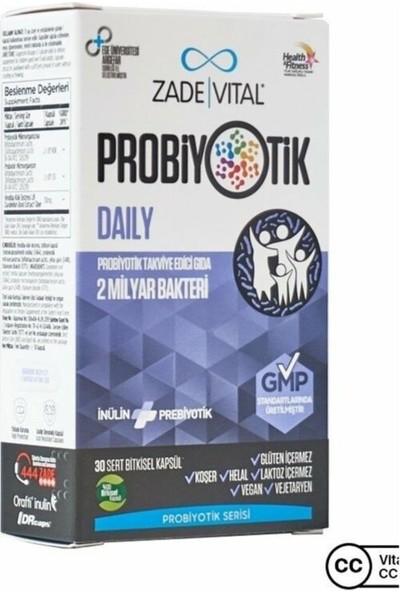Zade Vital Probiyotik Daily 30 Kapsül