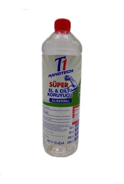 Nanotech Gliserinli El ve Cilt Koruyucu %70 Alkol 1 lt
