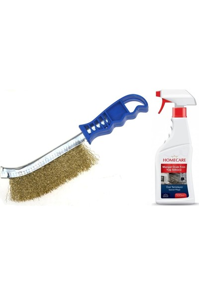 HomeCare Mangal Barbekü Temizlik Fırça Seti