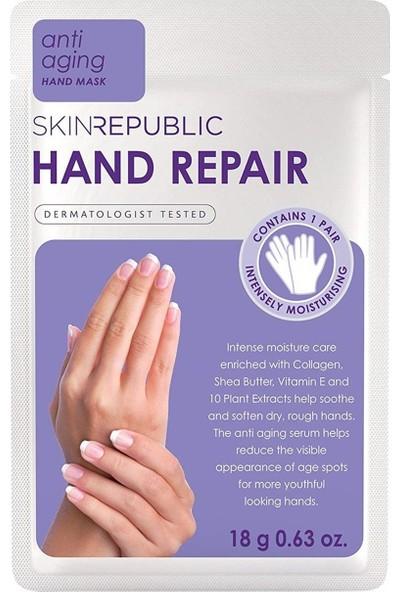 Skin Republic Hand Repair Anti Aging El Maske 18 gr