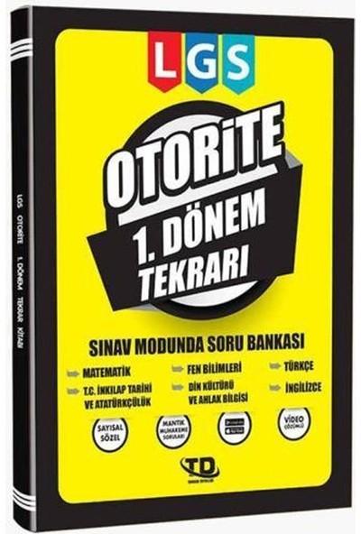 Tandem Yayınları LGS Otorite 1.Dönem Tekrarı Soru Bankası