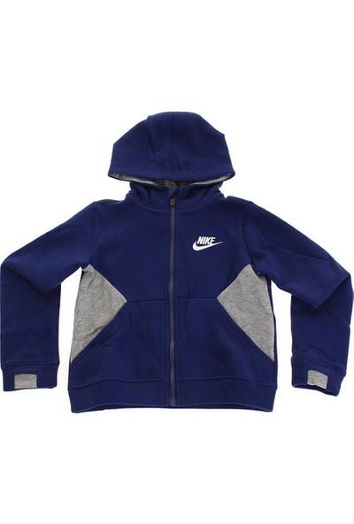 Nike Nsw Club Fleece Po Çocuk Ceket 76D613-U9J
