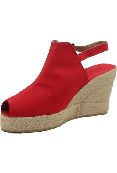 Gökçe Kundura Dolgu Topuklu Sandalet Kadın