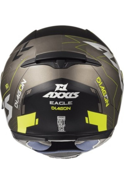 Axxis Eagle Sv Diagon Gloss Fluo Yellow L