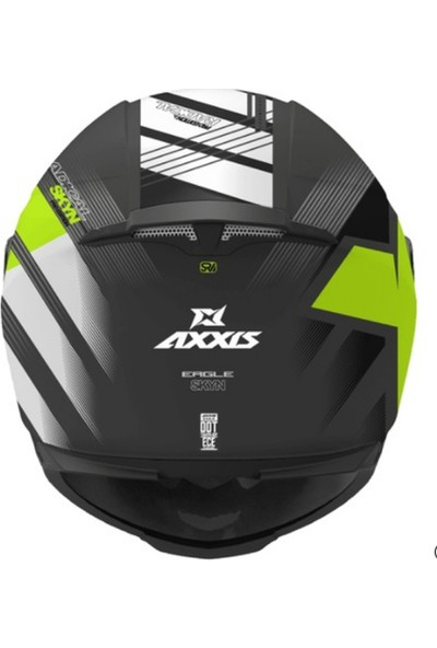Axxis Eagle Sv Skyn Fluo Yellow XXL