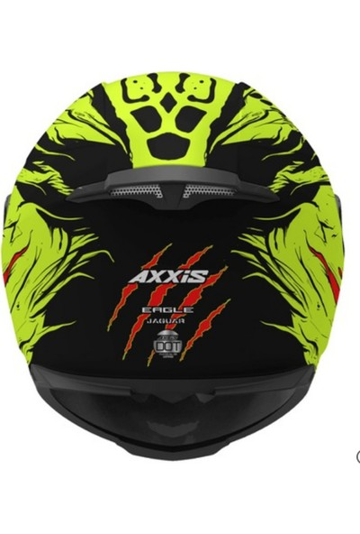 Axxis Eagle Sv Jaguar Gloss Fluo-Yellow XXL