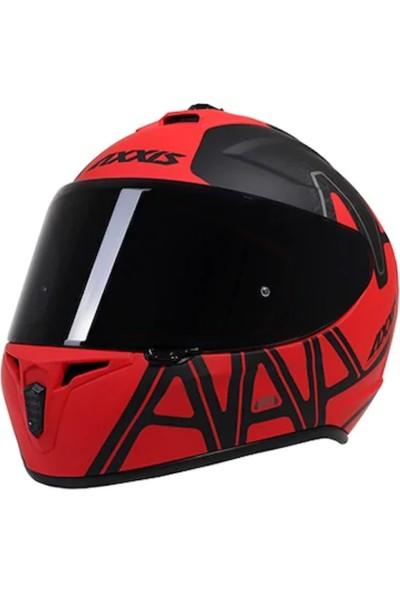 Axxis Draken Dekers Matt Red M