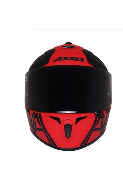 Axxis Draken Dekers Matt Red M