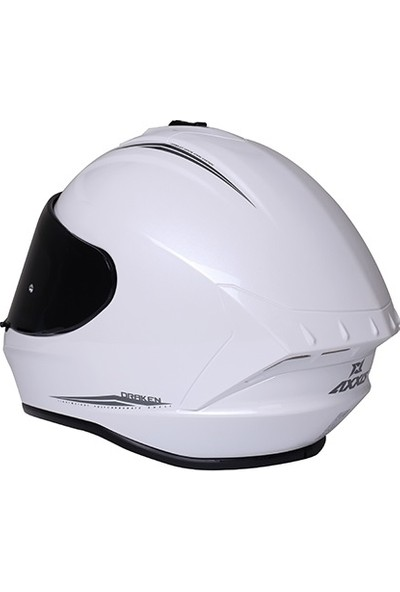 Axxis Draken Solid Gloss Pearl White XXL