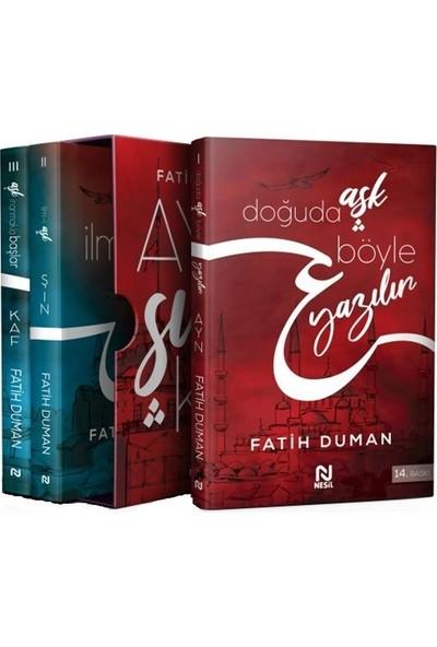 Ayn Sın Kaf Serisi ( 3 Çeşit Kitap ) - Fatih Duman