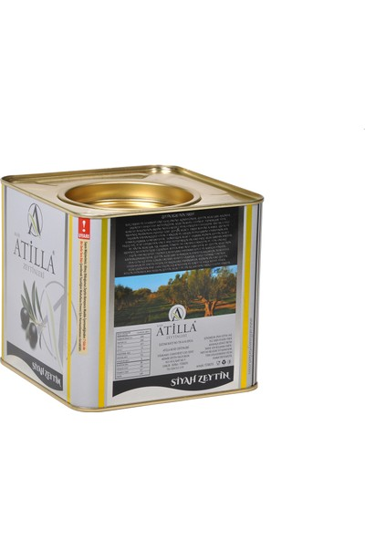 Atilla Zeytinleri 261-290 Kalibre Mega Siyah Zeytin 2,5 kg