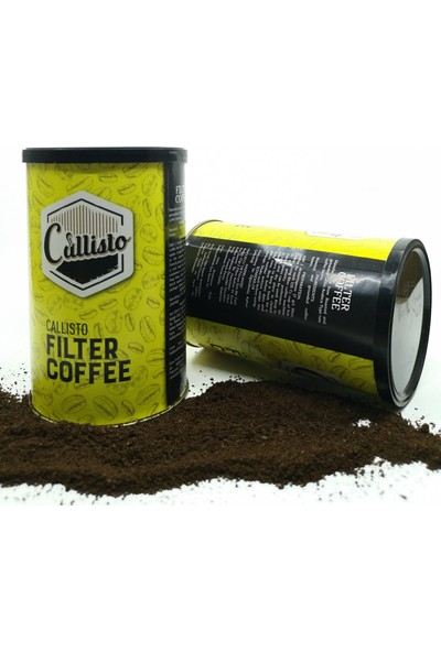 Callisto Filtre Kahve Brezilya 250 gr