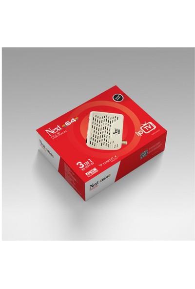 Next 64 Hd Çanaksız Uydu Alıcısı + Wifi Alıcı