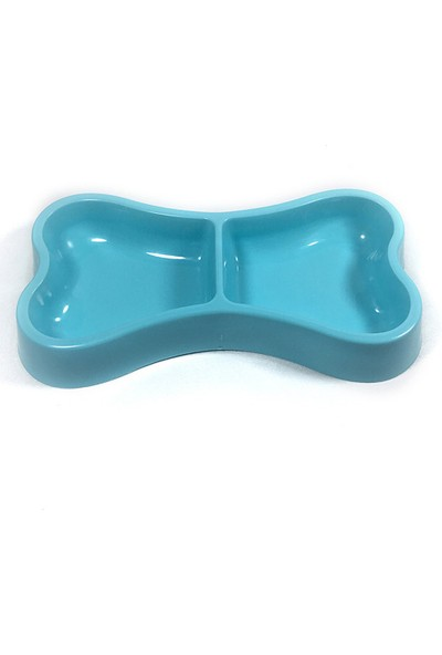 Yukka Köpek Su Kabı Melamin Dayanıklı Çevre Dostu Mavi