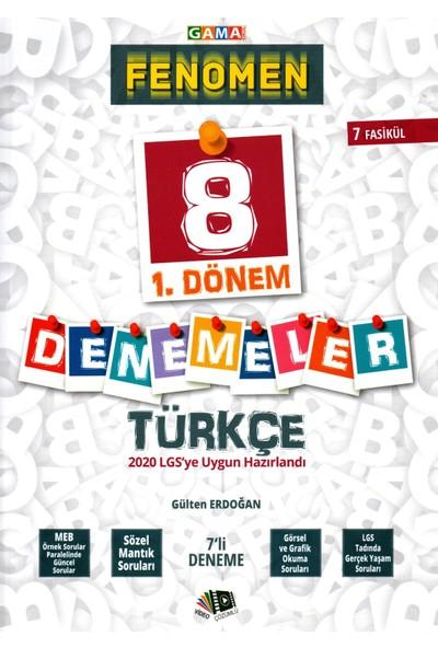Gama Yayınları 8. Sınıf LGS 1. Dönem 7'li Fenomen Türkçe Denemeleri