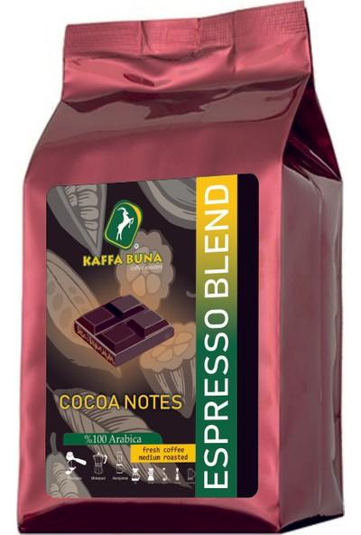 Kaffa Buna Coffee Espresso Blend Cocoa Notes Çekirdek Kahve