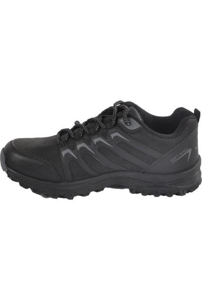 Bestof 056 Siyah-Siyah Erkek Outdoor Ayakkabı