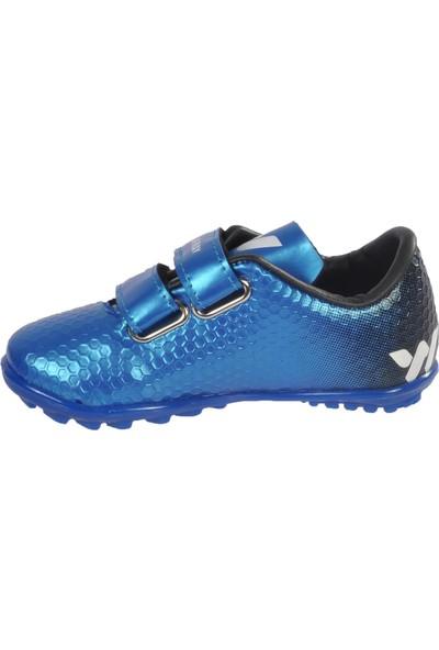 Walkway 023 Mavi Çocuk Halı Saha Ayakkabısı