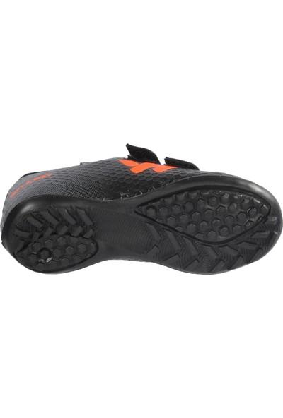 Walkway 023 Siyah Turuncu Çocuk Halı Saha Ayakkabısı