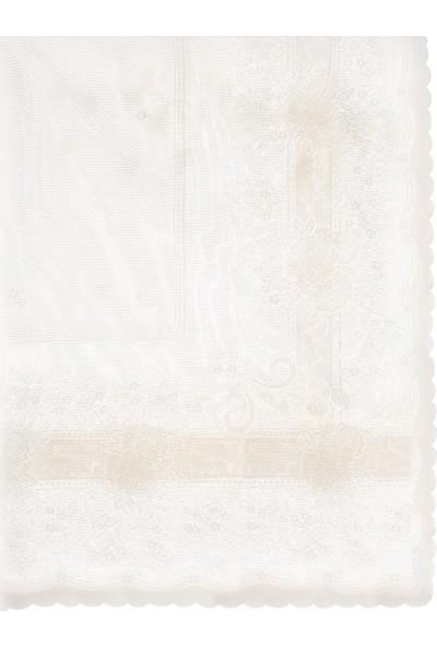 Hepsi Home Masa Örtüsü Sultan - Krem 150 x 220 cm