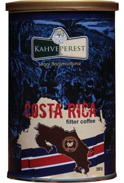 Kahveperest Costa Rica Yöresel Filtre Kahve Teneke Kutu 250 gr