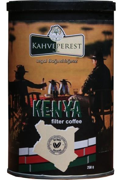 Kahveperest Kenya Filtre Kahve Teneke Kutu 250 gr