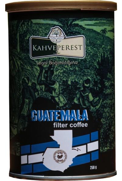 Kahveperest Guatemala Yöresel Filtre Kahve Teneke Kutu 250 gr