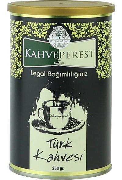 Kahveperest Türk Kahvesi Teneke Kutu 250 gr